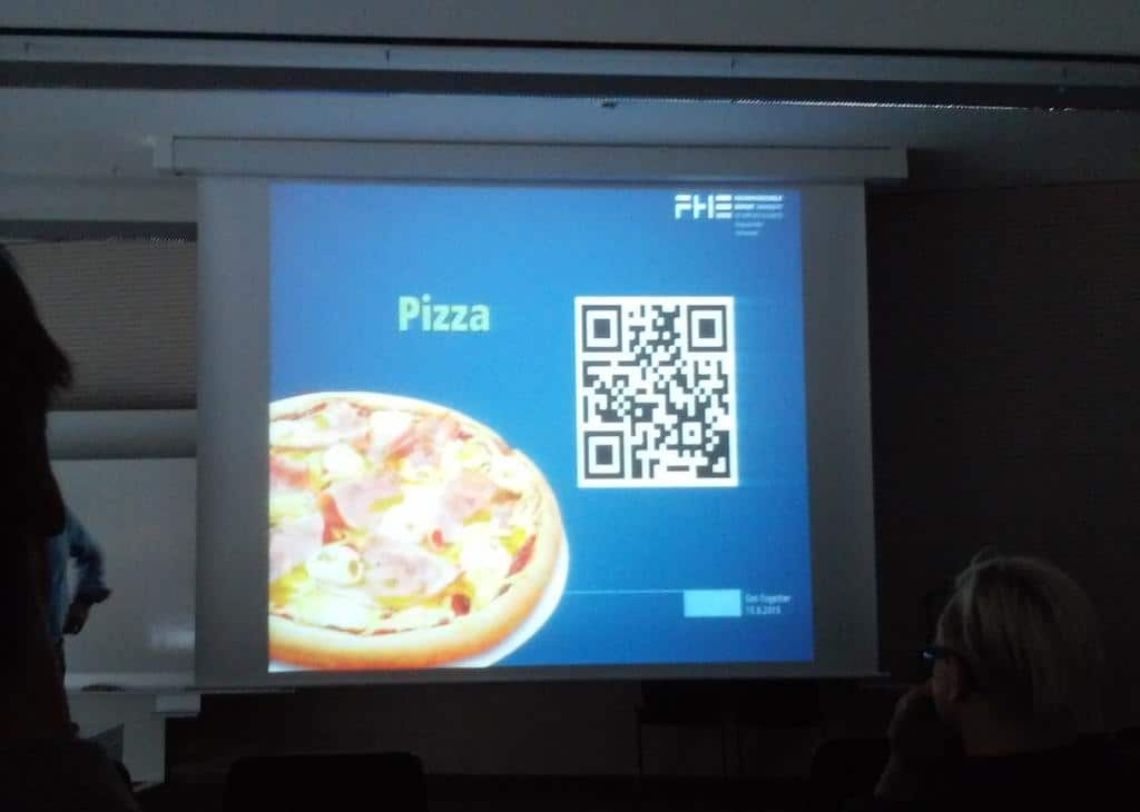 Pizza Bestellung Per QR Code