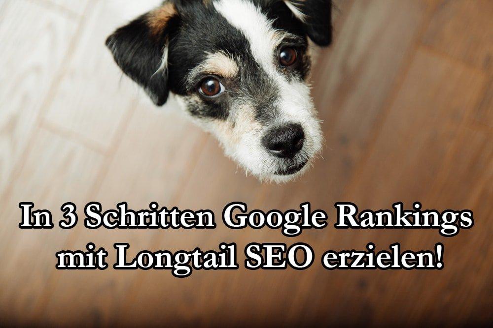 Wie Kommt Man In 3 Schritten Zu Google Rankings Mit Longtail SEO