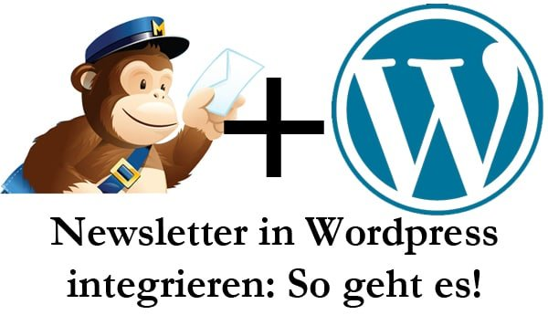 Das tutorial zum einbinden des Newsletter Wordpress integration