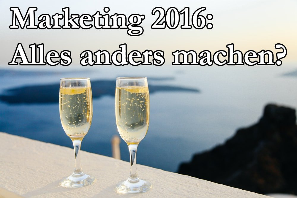Marketing Trends Und SEO Trends 2016