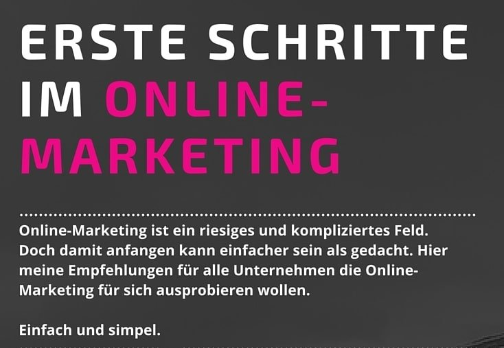Infografik: Wie Mit Online-Marketing Starten?