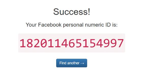 Service Find My FB ID