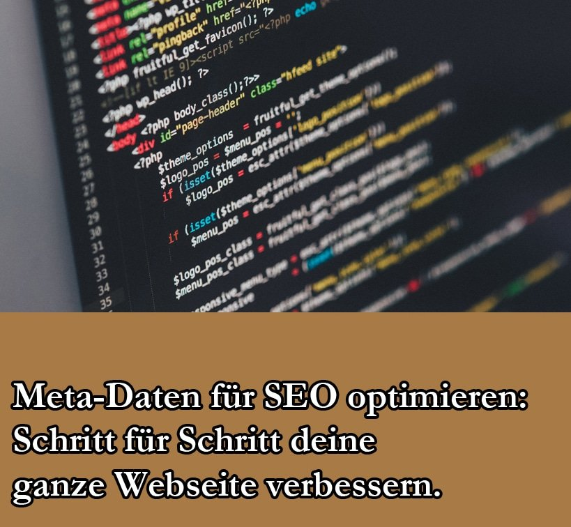 Webseiten Meta Tags: SEO Optimierung Aller Tags