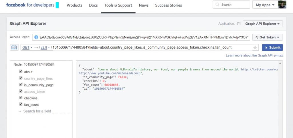 FBGraph API