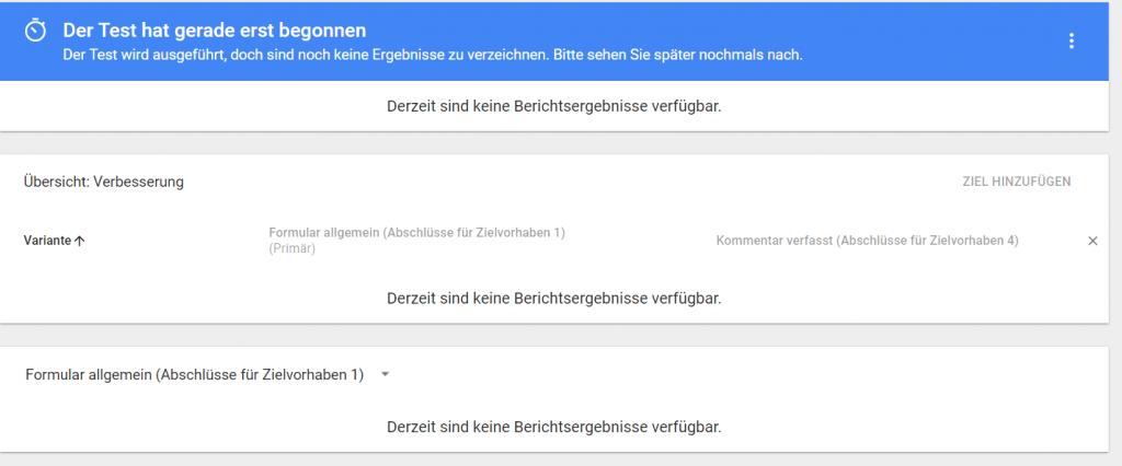 Testbericht Google Optimize